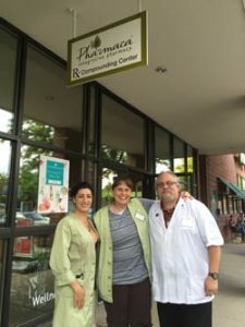 Pictured Left to Right; Laeh Benyamin, Lead Practitioner; Cindy Dobbins, Store Manager; Alan Ham, Pharmacy Manager