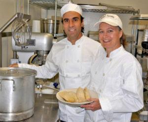 Connie & Eduardo making tamales